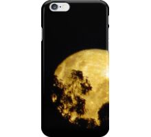Lovely Lunar from my front yard iPhone Case/Skin