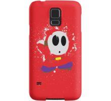 Splattery Shy Guy Style 1 Samsung Galaxy Case/Skin