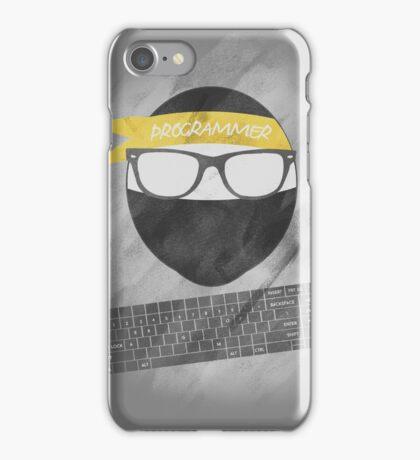 programmer ninja iPhone Case/Skin