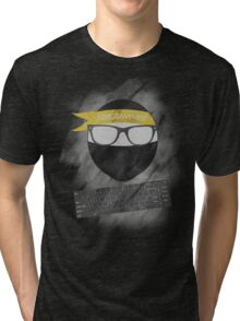 programmer ninja Tri-blend T-Shirt