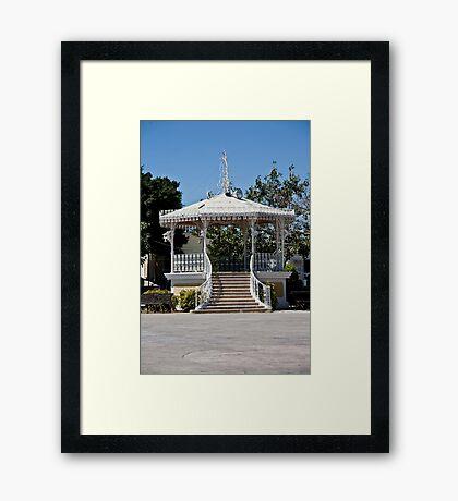 Gazebo Of San Jose Del Cabo Framed Print