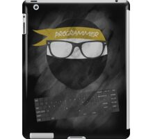 programmer ninja iPad Case/Skin