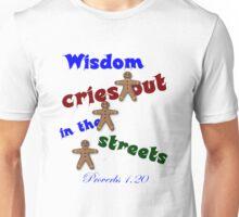 PROVERBS 1.20 Unisex T-Shirt