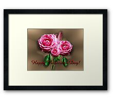 Valentine Greetings to RB community...Let Love be our reason to capture the beauty that surrounds us! Framed Print