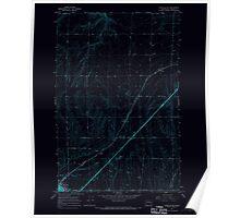 USGS Topo Map Washington State WA Ritzville NE 243465 1967 24000 Inverted Poster