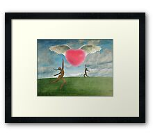 Love Is In The Air Part 2 Framed Print