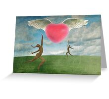 Love Is In The Air Part 2 Greeting Card