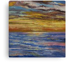 Parfait Sunset Canvas Print