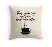 Johnny Cash Quote Throw Pillow