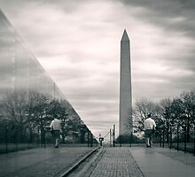 Vietnam War Veterans Memorial, Washington D.C. by strangelight