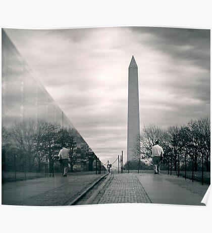 Vietnam War Veterans Memorial, Washington D.C. Poster