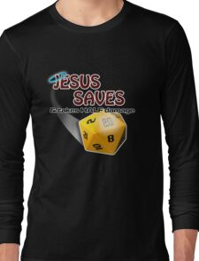Jesus Saves Long Sleeve T-Shirt