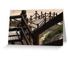 Stairs,  Western Australia style Greeting Card