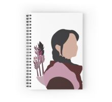 Katniss in Purple Spiral Notebook