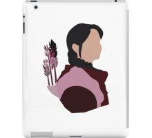 Katniss in Purple iPad Case/Skin