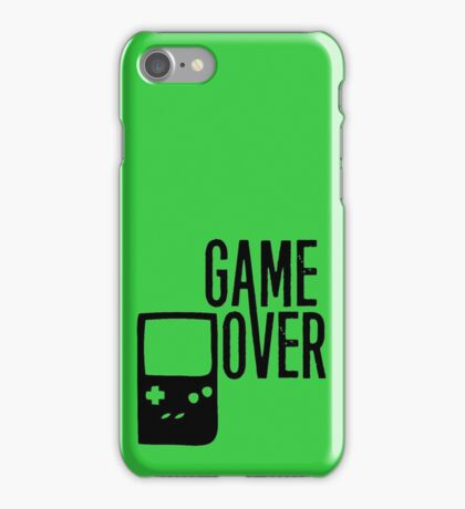 Game Over! iPhone Case/Skin