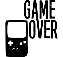Game Over! Photographic Print