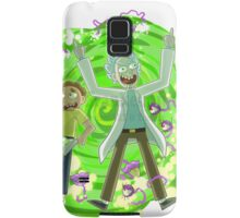 rick and morty  2 Samsung Galaxy Case/Skin