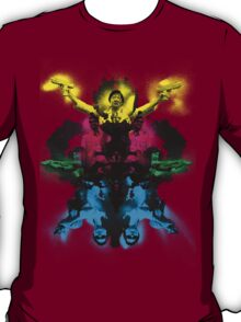 Senor Chang paintball montage T-Shirt