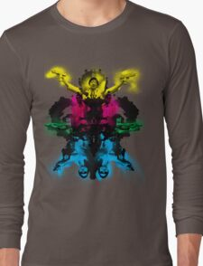Senor Chang paintball montage Long Sleeve T-Shirt