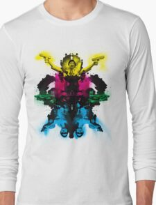Senor Chang paintball montage Long Sleeve T-Shirt
