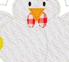 Duermen los pollitos Sticker