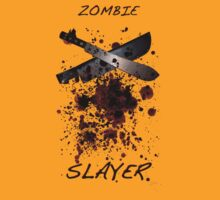 Zombie Slayer by daveb72