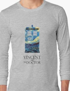 """""""Vincent and the Doctor"""" Long Sleeve T-Shirt"""