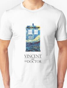 """""""Vincent and the Doctor"""" Unisex T-Shirt"""