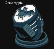 Bat symbol by choccywitch