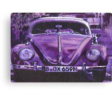 Lilac Lady Canvas Print
