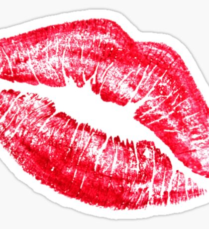 Kissing Sexy Lips Lipstick  Sticker