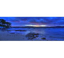 Angels Breath - Paradise Beach, Sydney Australia - The HDR Experience Photographic Print