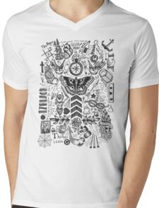 OT4 Tattoos Mens V-Neck T-Shirt