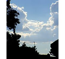 Clouds of the Free State / Wolke van die Vrystaat 01 Photographic Print