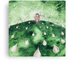 The Tale's Peasant Canvas Print