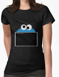 COOKIES ENABLED Womens Fitted T-Shirt