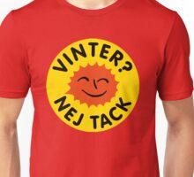 Vinter? Nej tack. Stor logga Unisex T-Shirt