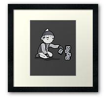Hmong Boy Framed Print