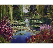 Monet's Lily Pond Photographic Print