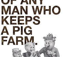 Pig Farm by GuerillaByte