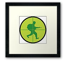 Sniper Scope Framed Print