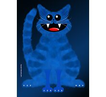 BLUEMOON CAT Photographic Print
