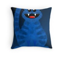 BLUEMOON CAT Throw Pillow