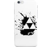 Tri-Force Paint Splat iPhone Case/Skin