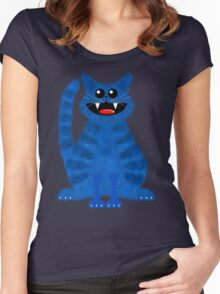 BLUEMOON CAT Women's Fitted Scoop T-Shirt