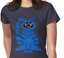 BLUEMOON CAT Womens Fitted T-Shirt