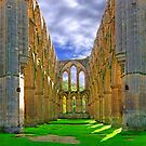 Rievaulx Abbey - Panorama - HDR  by Colin J Williams Photography