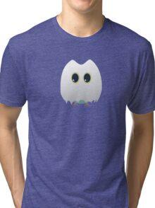 Owl in halloween costume Tri-blend T-Shirt