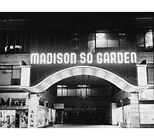Vintage Madison Square Garden Photographic Print